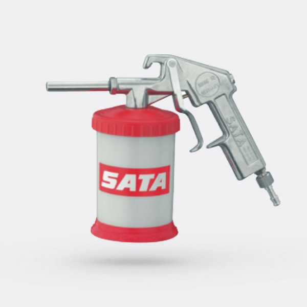 SATA-grit-blasting-gun